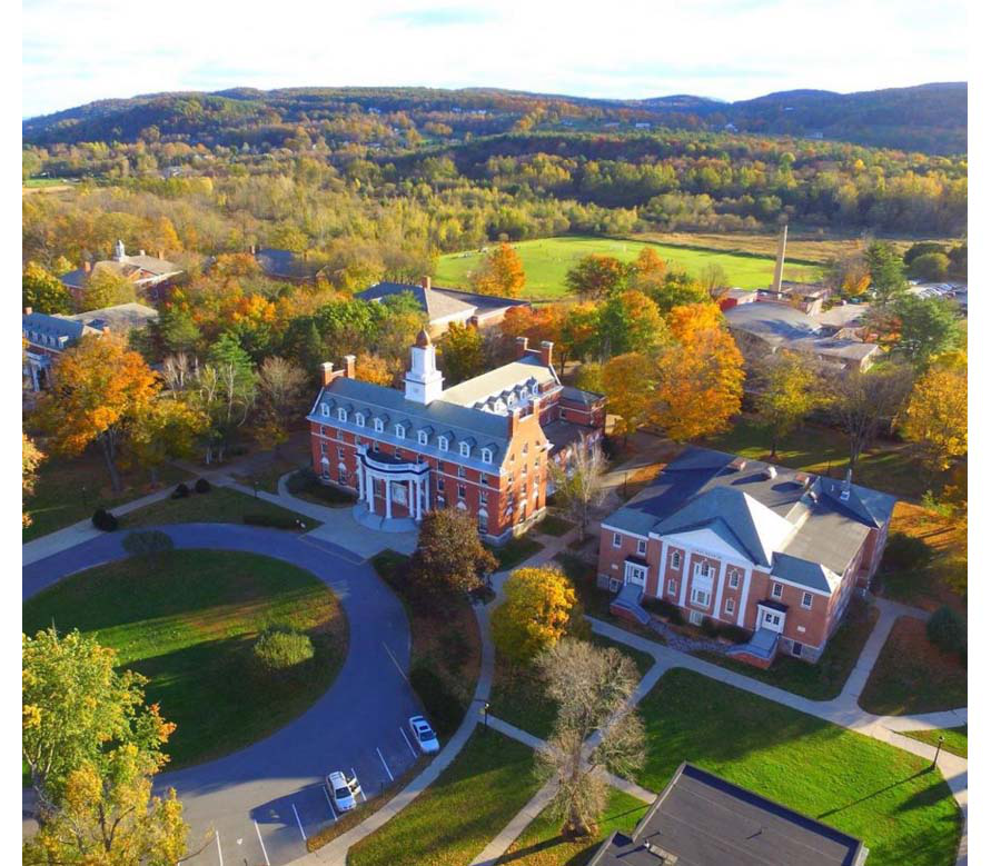 Green Mountain 学院 Campus, Poultney, VT 2018